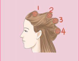 آموزش انواع شینیون مو زنانه و دخترانه